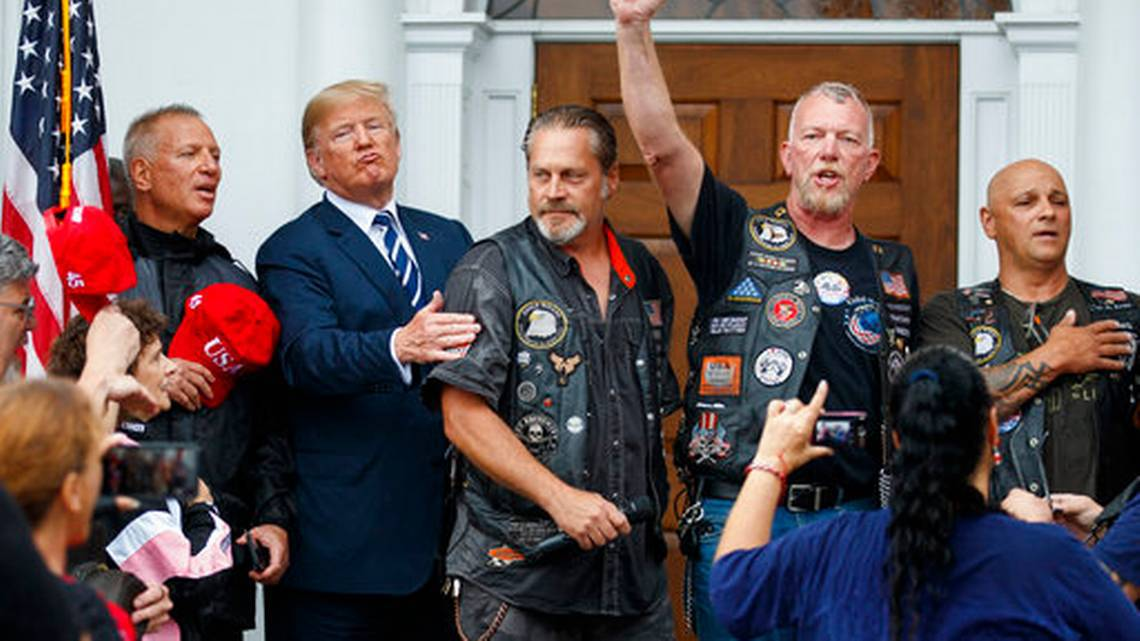 Bikers For Trump Got Swamped By Rain, Here's What Our President Did