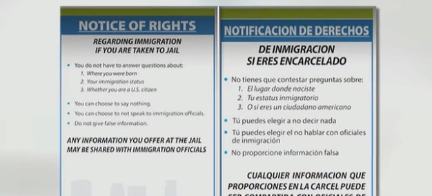 Minneapolis Mayor Forces Police To Use Placards Aimed at Helping Illegal Immigrants