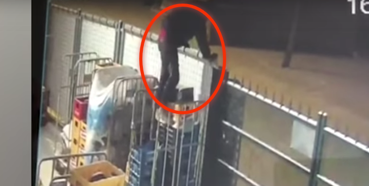 Unbelievable CCTV Footage Catches Thief's Pathetic Attempt To Steal Beer [Video]