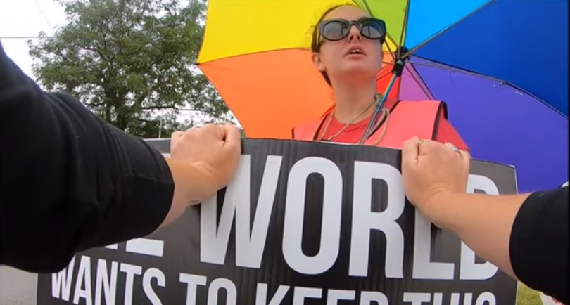 Pro-Lifer Shamed And Shouted Down By Abortionist Bully: You're A 'Childless B****