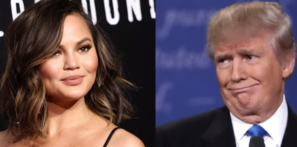 WOW: John Legend's Wife Blows A FUSE After Trump Calls Her