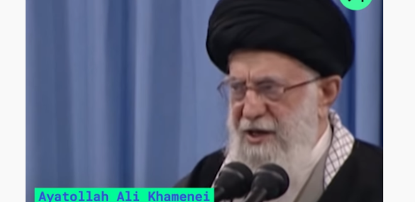 "Iran's Supreme Leader Tries To Save Face Lashing Out At The ""Villainous American Government"""