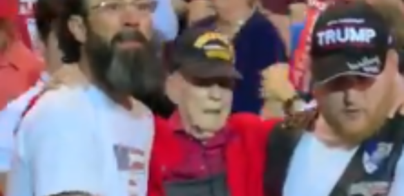 Wait Until You See What Trump Supporters Did For WWII Vet At Rally -THIS IS PATRIOTISM [Video]