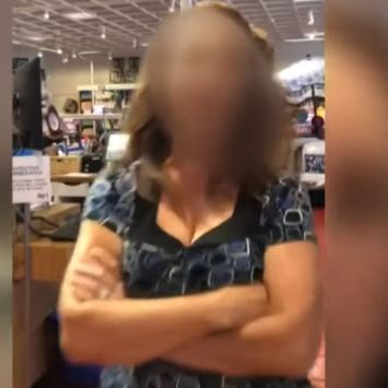 Viral Video Leads To Arrest Of Irate Woman Who Deliberately Coughed On A Brain Tumor Patient