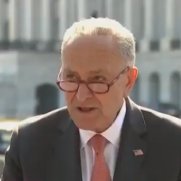 Little Chucky Schumer Gets HAMMERED By Hecklers:
