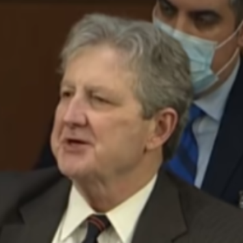 John Kennedy Vow Biden Is About To Have A 'Hell Of A Fight' If He Continues