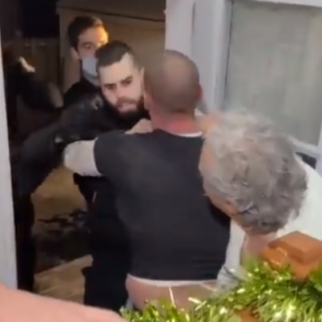 Canada: Family Released Footage Of Police Raid After Neighbors Report Them For 'Illegal Gathering'